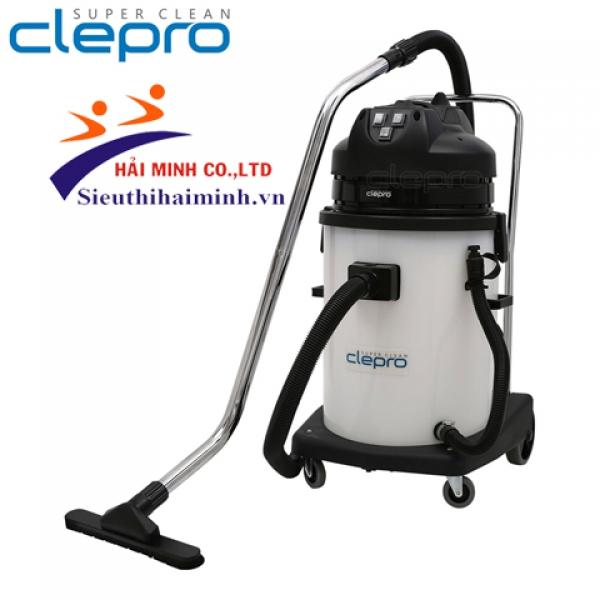 Máy hút bụi hút nước Clepro P3/60 (3 motor)