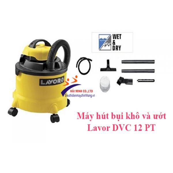 Máy hút bụi khô và ướt Lavor DVC 12 PT