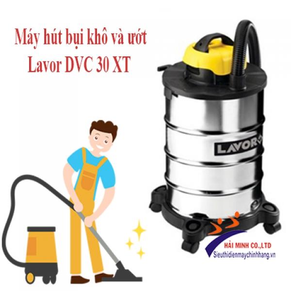 Máy hút bụi khô và ướt Lavor DVC 30 XT