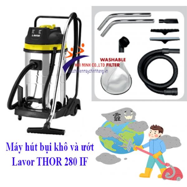Máy hút bụi khô và ướt Lavor THOR 280 IF