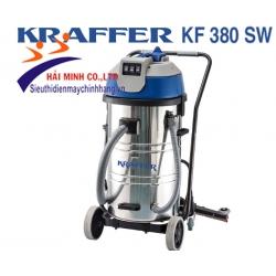 Máy hút bụi công nghiệp KRAFFER KF 380 SW (03motor)  + Kit