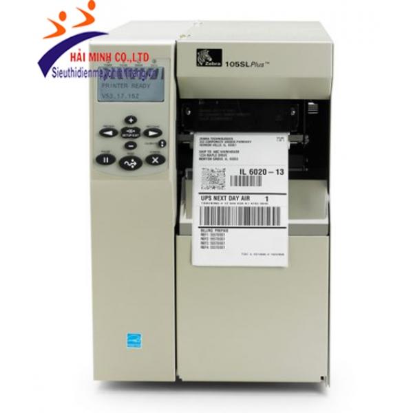 Máy in mã vạch Zebra 105SL Plus-600dpi