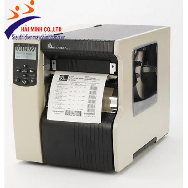 Máy in mã vạch Zebra 170Xi4-300dpi