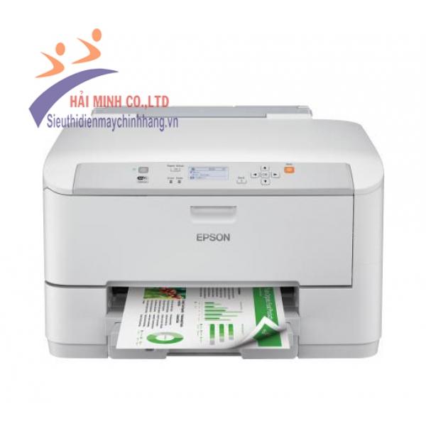 Máy in phun màu A4 Epson WF5110 (in wifi, in mạng)