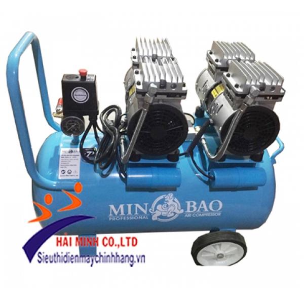 Máy nén khí không dầu (Vàng) Minbao MB-O50L-2