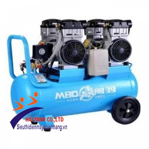 Máy nén khí không dầu (Vàng) Minbao MB-O70L-2