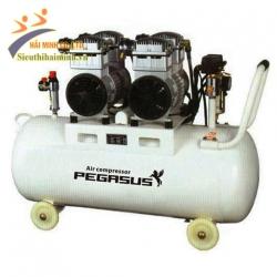 Máy nén khí giảm âm PEGASUS TM-OF550*2-70L