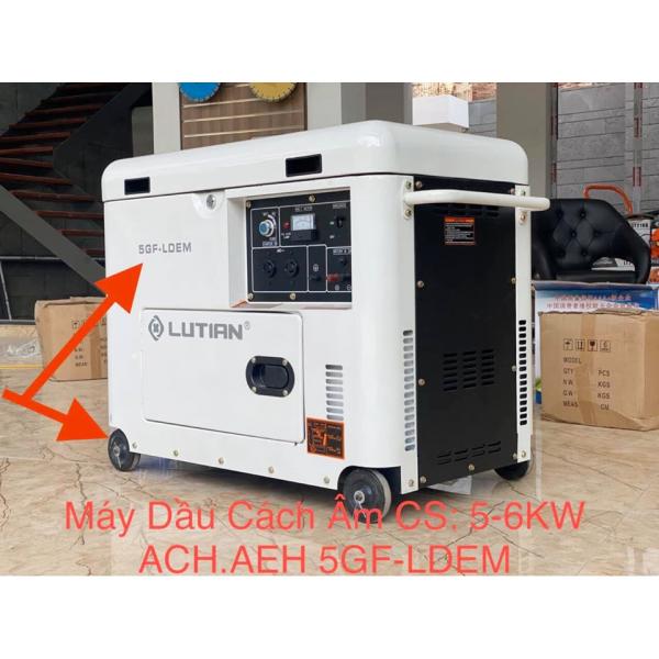 Máy phát điện Lutian 5GF-LDEM3 (3 pha)