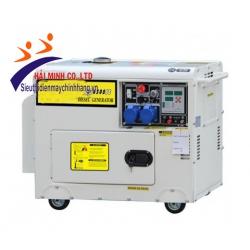 Máy phát điện siêu cách âm I-Mike DG6500SE( mở nắp trên)