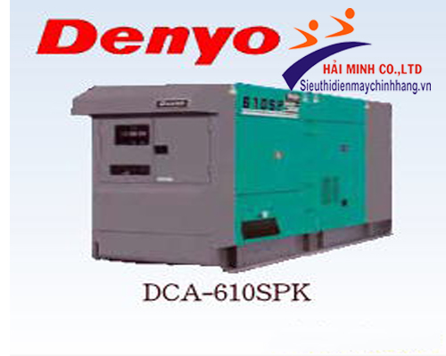 May phat dien DENYO DCA-610SPK
