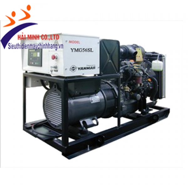 Máy phát điện Yanmar YMG56TL (máy trần 3 pha)