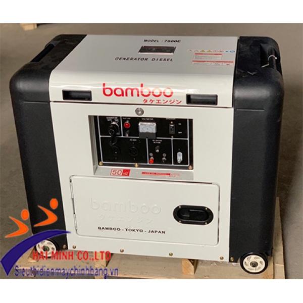 Máy phát điện diesel Bamboo 7800E (5KW)