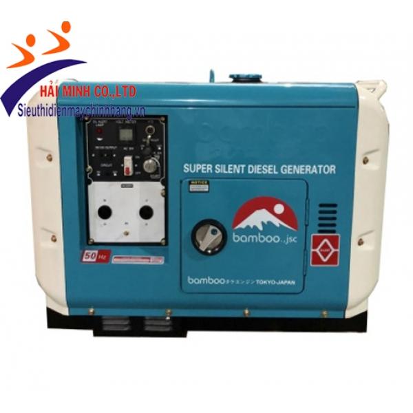 Máy phát điện diesel Bamboo BmB 7500DET