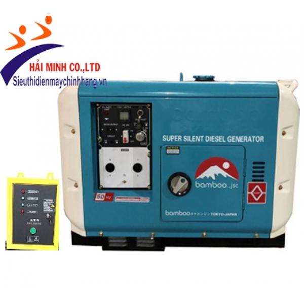 Máy phát điện diesel Bamboo BmB 7500EAT