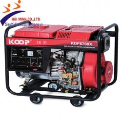 Máy phát điện diesel Koop KDF6700X (4.5kva trần)