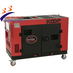 Máy phát điện chống ồn Koop KDF12000Q (9kva diesel)