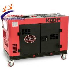 Máy phát điện chống ồn Koop KDF12000Q-3 (11kva 3 pha diesel)