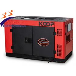 Máy phát điện chống ồn Koop KDF16000Q-3