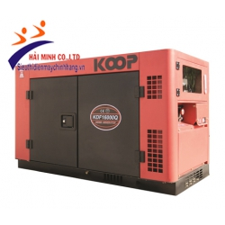 Máy phát điện chống ồn Koop KDF16000Q