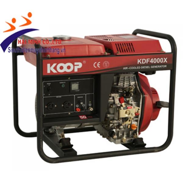 Máy phát điện Koop KDF4000X