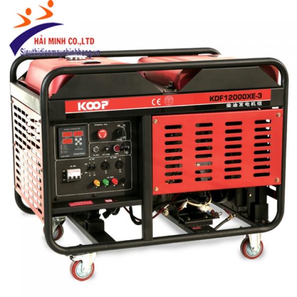 Máy phát điện Koop KDF12000XE(-3)