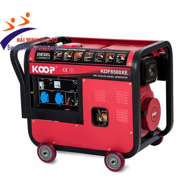 Máy phát điện diesel Koop KDF8500XE(6kva trần)