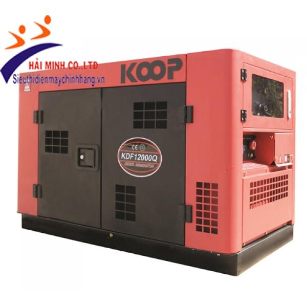 Máy phát điện chống ồn Koop KDF12000Q