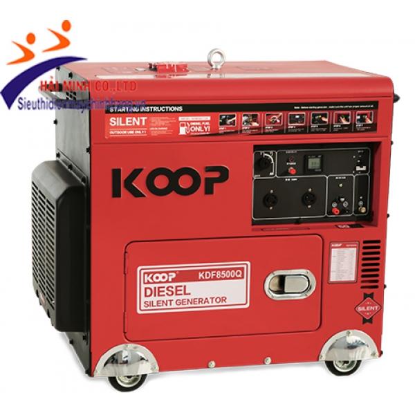 Máy phát điện chống ồn Koop KDF8500Q (6kva trần)