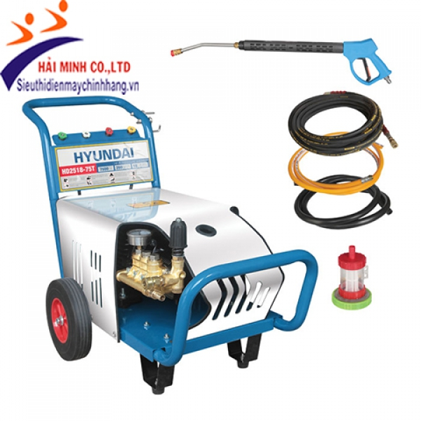 Máy xịt rửa công nghiệp Hyundai HD2518-75T