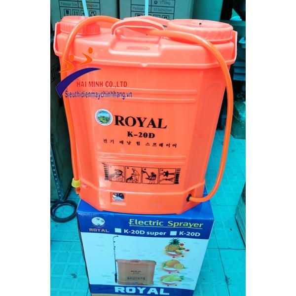Máy phun thuốc bằng điện ROYAL K-20D