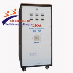 Ổn áp Lioa DR3-75K 3 Pha