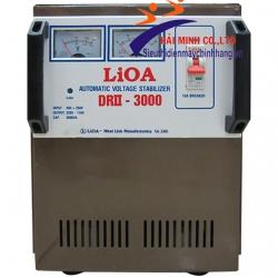 Ổn áp 1 pha LIOA DRII 3000 II 3KVA