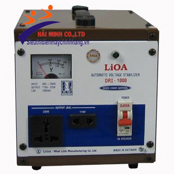 Ổn áp Lioa 1 pha DRI 1000 II 1KVA