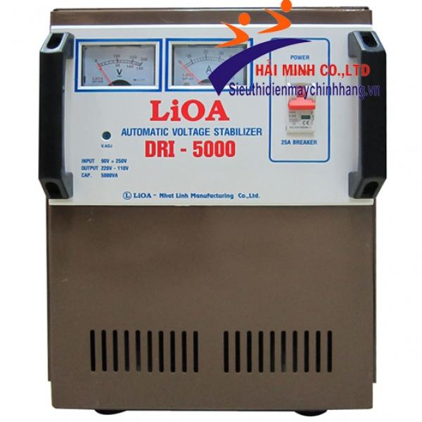 Ổn áp 1 pha Lioa  DRI 5000 II 5KVA