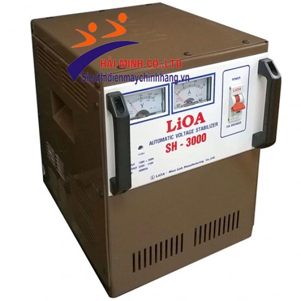 Ổn áp 1 pha Lioa  SH 3000 II