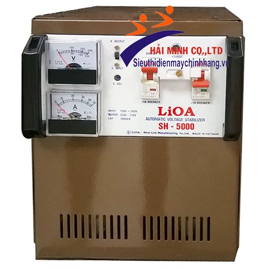 ổn áp lioa 5KVA SH-5000