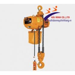 Pa lăng xích điện cố định 2.5 tấn HKD02501S