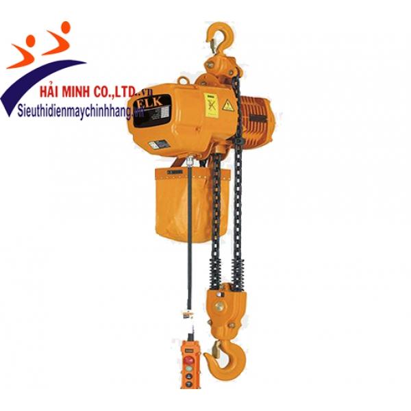 Pa lăng xích điện HKD35-12S cố định 35 tấn