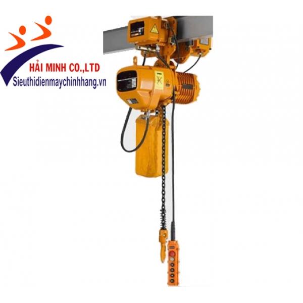 Pa lăng xích điện HKDM20-08S con chạy 20 tấn