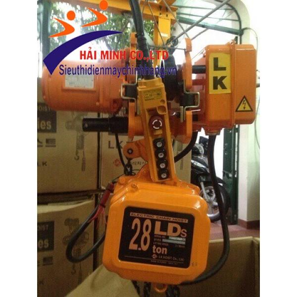Pa lăng xích điện LDS-2.8 W