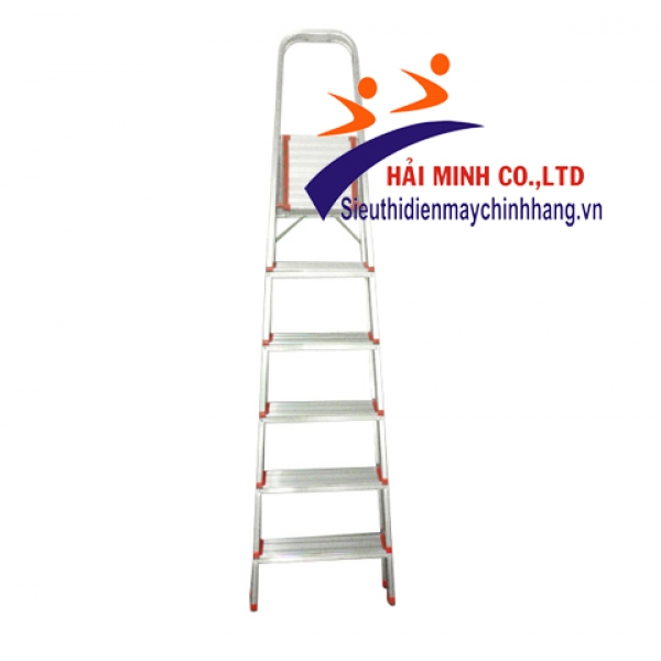 Thang ghế nhôm 6 bậc Advindeq AL06