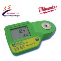 Khúc xạ kế đo Baume-nhiệt độ Milwaukee MA883