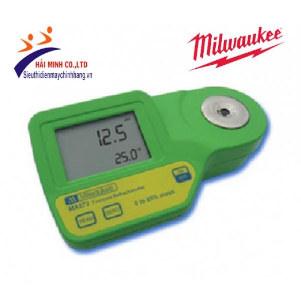 Khúc xạ kế đo đường Fructose/nhiệt độ Milwaukee MA872