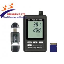 Máy đo nhiệt độ độ ẩm có lưu dữ liệu PCE-HT110