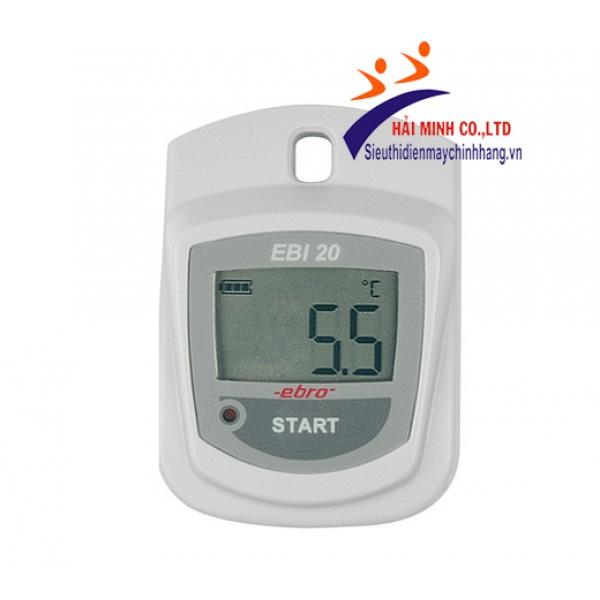 Thiết bị ghi nhiệt độ hiển thị số EBRO EBI 20-T1
