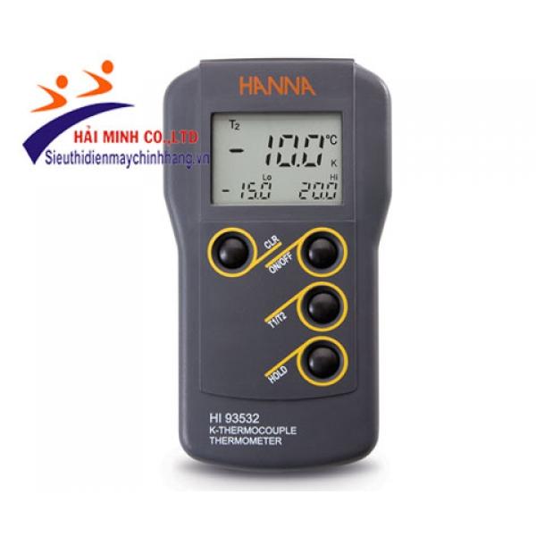 Máy đo nhiệt độ cổng K Hanna HI93532