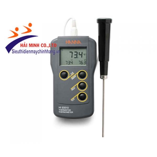 Máy đo nhiệt độ tiếp xúc Hanna HI93510