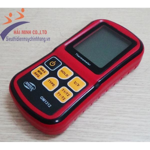 Máy đo nhiệt độ tiếp xúc Benetech GM1312