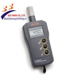 Máy đo độ ẩm/nhiệt độ cầm tay Hanna HI93640 tích hợp đầu dò