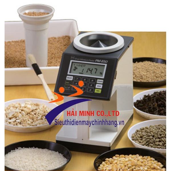 Máy đo độ ẩm nông sản Kett PM-650